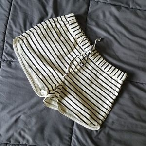 J Crew Striped Soft Shorts